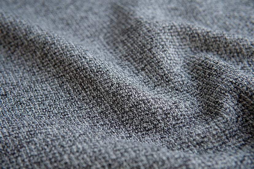 Baumwollstrick | schwarz | 0.5m