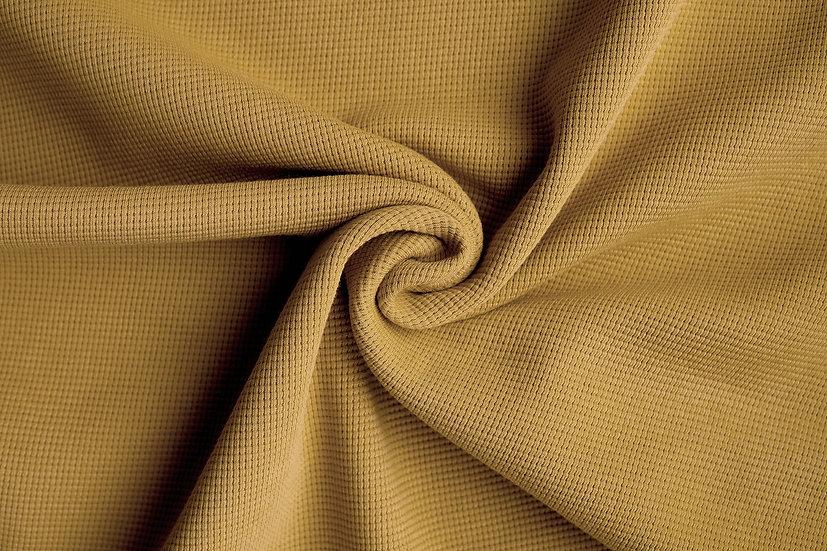 Waffeljersey | falbe | 0.5m