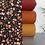 Thumbnail: Just Flowers schwarz | Biojersey | 0.5m