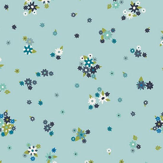 Ditsy Flowers | Designerjersey | 0,5m