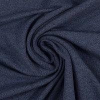 Jersey | jeans meliert | 0.5m