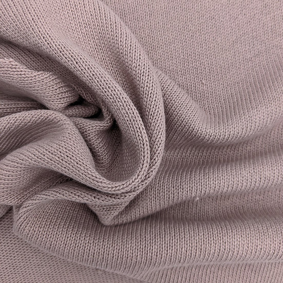 Cotton knit / dusky pink / 0.5m