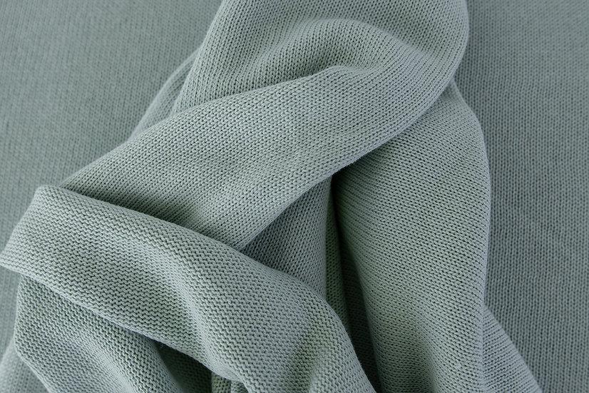 Cotton knit / sea green / 0.5m