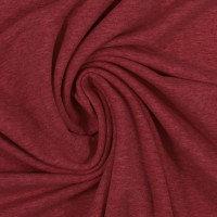 French Terry | burgund meliert | 0.5m