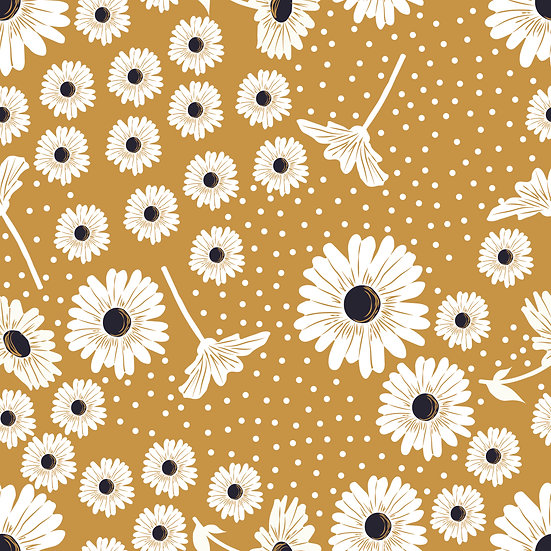 Golden Daisies | Jersey | 0,5m