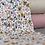 Thumbnail: Just Flowers weiß/senf | Biojersey | 0.5m