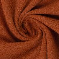 XXL-Bündchen | terracotta meliert | 0.5m