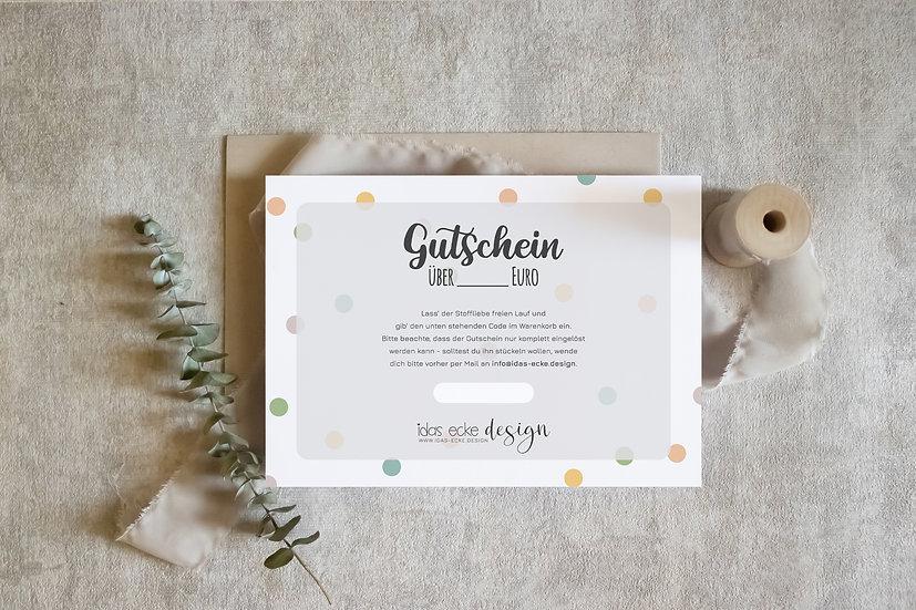 Digitaler Gutschein / ab 10€