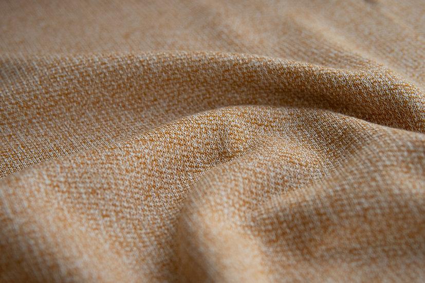 Baumwollstrick   senf   0.5m