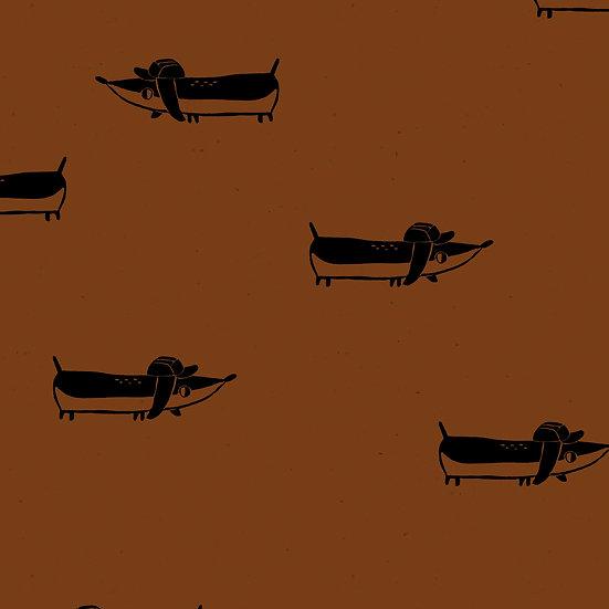 Detlef cognac | Biojersey | 0,5m