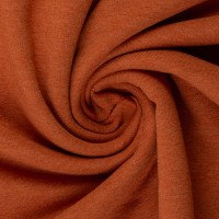 French Terry | terracotta meliert | 0.5m
