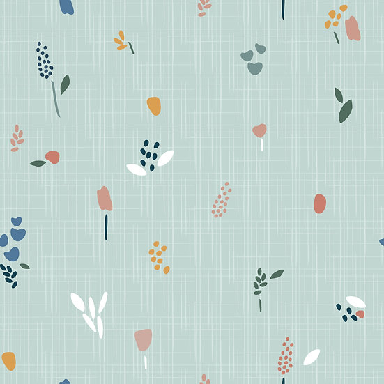 Lily mint | French Terry | 0,5m