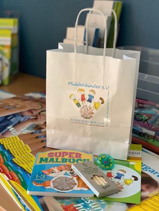 """""""Willkommens-Tütchen"""" für die KiTa Kinder"""