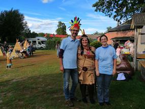 Indianerfest in der Kita Schneckenhaus