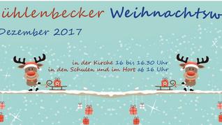 Mühlenbecker Weihnachtsweg am Freitag, 1. Dezember von 16.00 - 19.30 Uhr