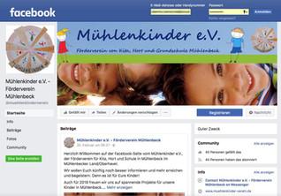 Mühlenkinder e.V. bei Facebook
