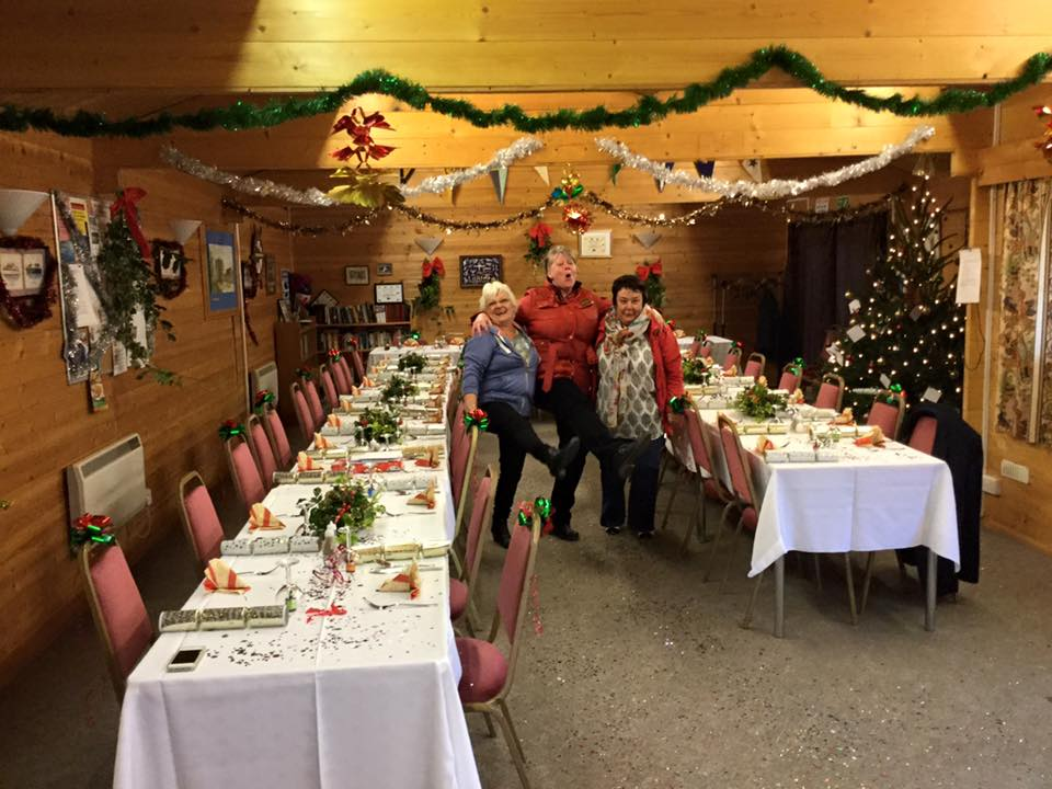 Preparations for Christmas Lunch 2015