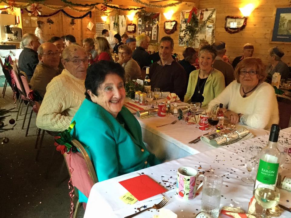 Enjoying Christmas Lunch 2015