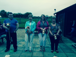 Fun with horse racing at EBC Fitting Out Supper
