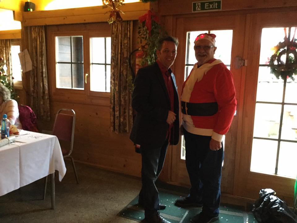 Father Christmas came too to Christmas Lunch 2015
