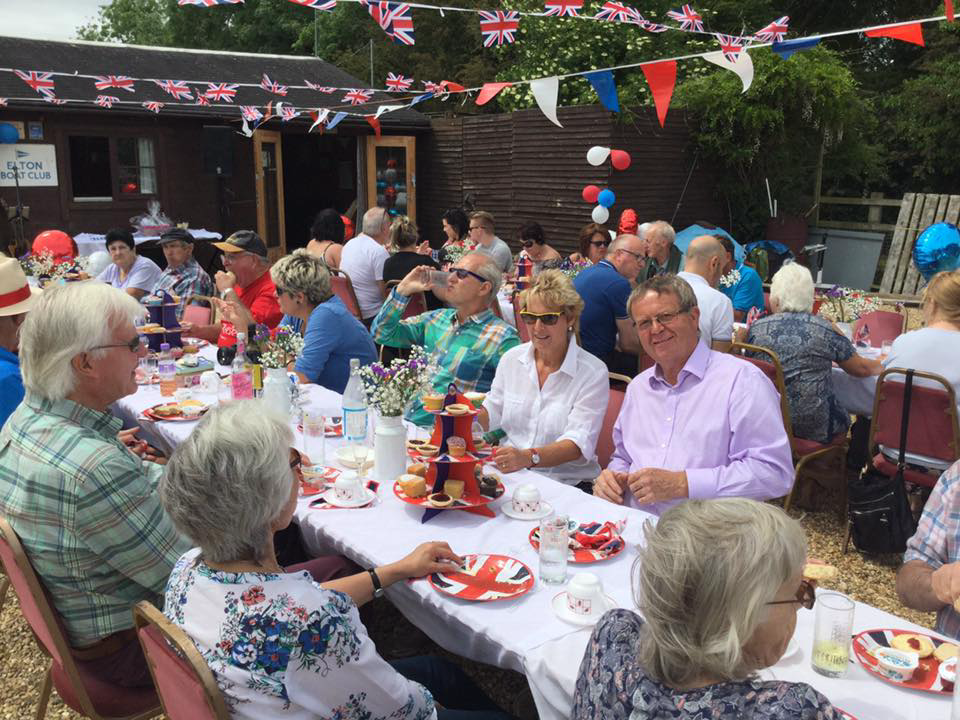 Quuens 90th Birthday Street Party