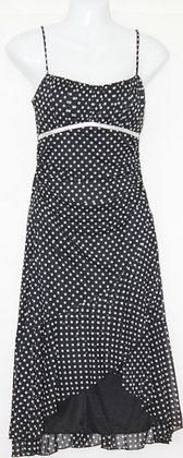 44. Cute Lil Black Poka Dot Dress