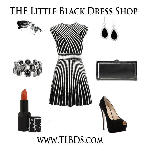 Hypnotic little black dress..