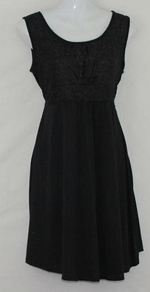 14. Black / Lace Maternity Dress