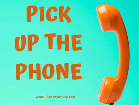 Pick up the Phone – Part One