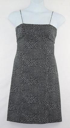 83. Cute Black w/ White Dots Dress