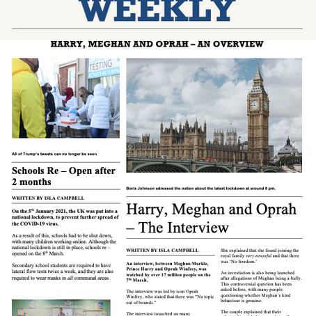 Harry, Meghan and Oprah - The Interview (Edition 24)