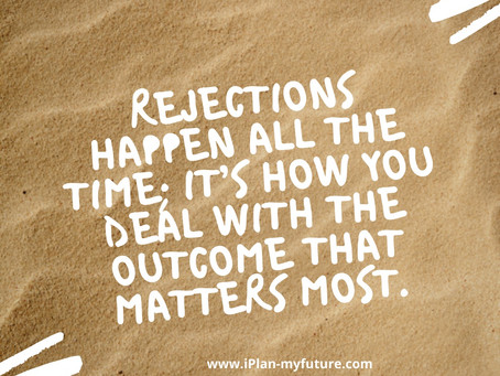 Dealing with Rejection- Part Four
