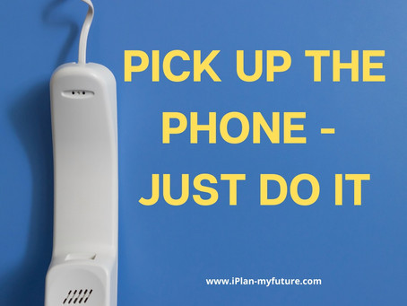 Pick up the Phone – Part Two