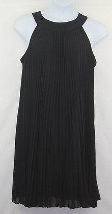 51. Pleated Sleeveless Lil Black Dress