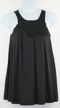 73. Black Sleeveless Mini Dress