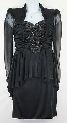 96. Vintage Black Dress