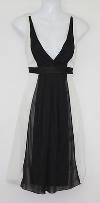 41. Small Black & White Lil Dress