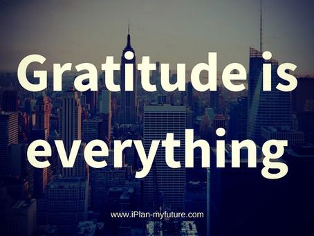 Gratitude: Glass Half Full vs. Half Empty?