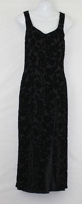 28. Black Formal w/ Black Velvet Print