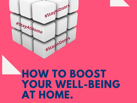 How to boost your well-being at home.
