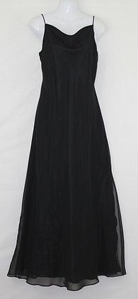 30.  Elegant Black Long Evening Gown