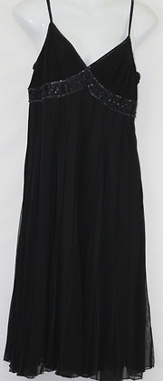 21. Black Beaded Evening Dress