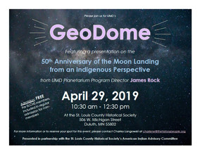 GeoDome - 50th Anniversary of the Moon Landing from an Indigenous Perspective