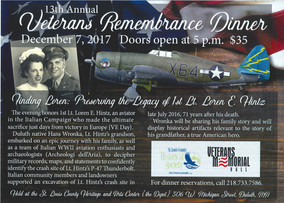 13th Annual Veterans Remembrance Dinner