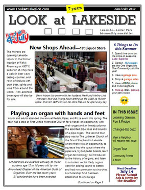Look at Lakeside Newsletter