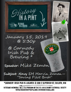 History in a Pint on January 15, 2019