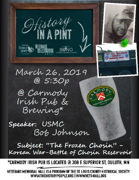 March 26: History in a Pint