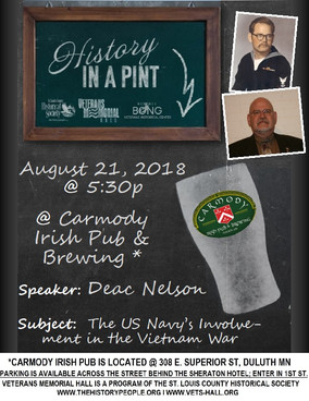 History in a Pint - August 21