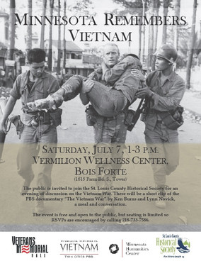 July 7: Minnesota Remembers Vietnam Event on Bois Forte Reservation