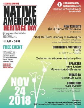 NATIVE AMERICAN HERITAGE DAY AT THE DEPOT